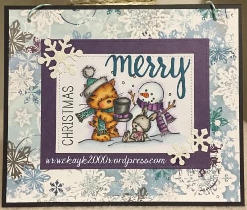 Puss, Jack & Snowman_Merry Christmas